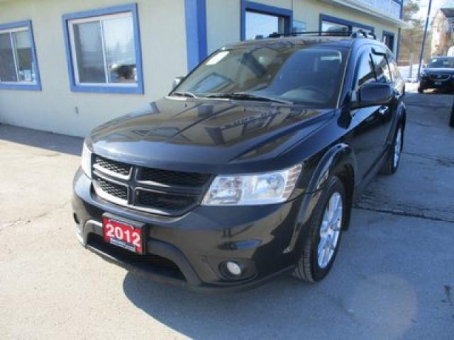2012 Dodge Journey ALL-WHEEL DRIVE R/T EDITION 5 PASSENGER 3.6L - V6.. LEATHER.. HEATED SEATS.. ALPINE AUDIO.. TOUCH SCREEN.. KEYLESS ENTRY & START..