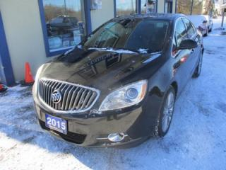 Used 2015 Buick Verano LOADED PREMIUM MODEL 5 PASSENGER 2.0L - TURBO.. LEATHER.. HEATED SEATS.. BOSE AUDIO.. NAVIGATION.. SUNROOF.. BACK-UP CAMERA.. TOUCH SCREEN.. for sale in Bradford, ON
