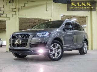 Used 2015 Audi Q7 Progressive TDI for sale in Guelph, ON