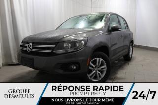 Used 2012 Volkswagen Tiguan TRENDLINE + MANUELLE + FWD + SUPER CONDI for sale in Laval, QC