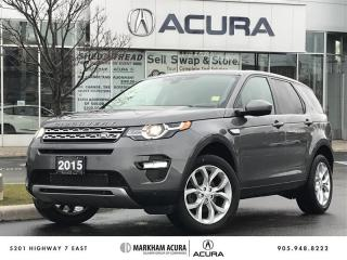 Used 2015 Land Rover Discovery Sport HSE Bkup Cam, Pano Rf, Htd Steer Whl, Pwr Trunk for sale in Markham, ON
