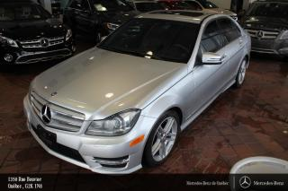 Used 2012 Mercedes-Benz C-Class C300 Awd,navi for sale in Québec, QC