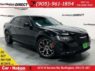 Used 2015 Chrysler 300 S| LOCAL TRADE| NAVI| PANO ROOF| LEATHER| for sale in Burlington, ON