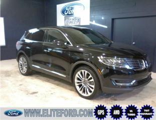 Used 2016 Lincoln MKX 2.7l 4 PNEUS HIVER INCLUS for sale in St-Jérôme, QC