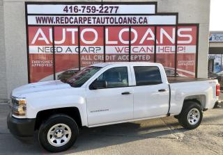 Used 2018 Chevrolet Silverado 1500 WT-ALL CREDIT ACCEPTED for sale in Scarborough, ON