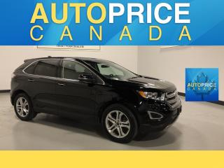 Used 2017 Ford Edge Titanium NAVIGATION|REAR CAM|LEATHER for sale in Mississauga, ON