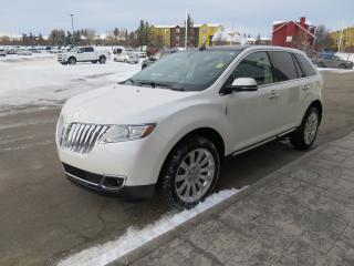 Used 2014 Lincoln MKX Clean carfax report, sight and sound package, voice activated navigation for sale in Okotoks, AB