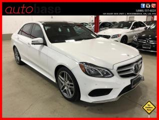 Used 2016 Mercedes-Benz E-Class E400 4MATIC AVANTGARDE INTELLIGENT DRIVE LED for sale in Vaughan, ON