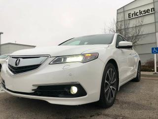 Used 2015 Acura TLX V6 Elite/Back-up Camera/Active Noise Cancellation for sale in Edmonton, AB