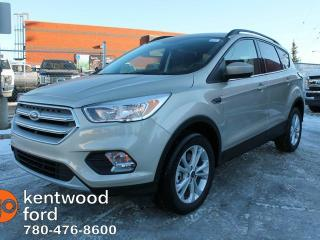 New 2018 Ford Escape SE 4WD, 1.5L ECOBOOST, REVERSE CAMERA, HEATED FRONT SEATS, ROOF RAILS, AUTO START/STOP for sale in Edmonton, AB