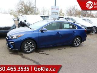 New 2019 Kia Forte EX+; SUNROOF, PROXIMITY ENTRY, HEATED SEATS, BACKUP CAMERA, BLUETOOTH, A/C, ALLOY RIMS for sale in Edmonton, AB