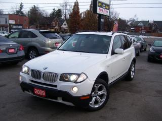Used 2009 BMW X3 30i,X DRIVE3.0,AWD for sale in Kitchener, ON