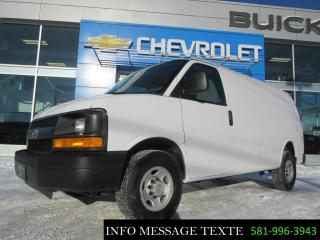Used 2014 GMC Savana cargo for sale in Ste-Marie, QC