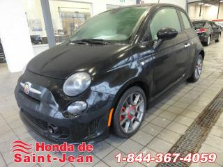 Used 2015 Fiat 500 HB Abarth 225 HP Cuir Mags for sale in St-Jean-Sur-Richelieu, QC