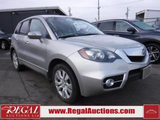 Used 2011 Acura RDX SH 4D Utility AWD for sale in Calgary, AB