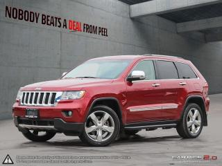 Used 2013 Jeep Grand Cherokee Overland*DVD*Navigation*Cleanest Weve Seen for sale in Mississauga, ON
