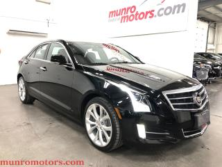 Used 2014 Cadillac ATS 2.0L Turbo Performance AWD NAV SUNROOF for sale in St. George Brant, ON