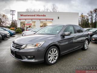 Used 2015 Honda Accord Touring, Factory Warranty Until 2022 for sale in Port Moody, BC
