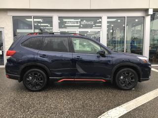 New 2019 Subaru Forester 2.5 SPORT EYESIGHT for sale in Vernon, BC