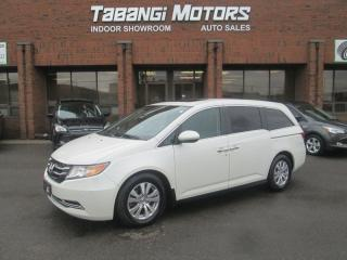 Used 2015 Honda Odyssey EX-L | NAVIGATION | LEATHER | DVD | SUNROOF | POWER DOORS for sale in Mississauga, ON