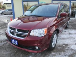 Used 2017 Dodge Grand Caravan FAMILY MOVING CREW MODEL 7 PASSENGER 3.6L - V6.. CAPTAINS.. STOW-N-GO.. ECON-PACKAGE.. CD/AUX INPUT.. POWER WINDOWS.. for sale in Bradford, ON