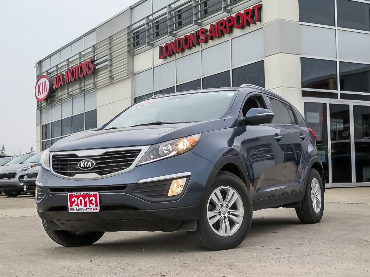 Airport Kia London >> Used 2013 Kia Sportage Lx For Sale In London Ontario