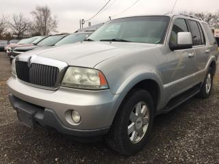 Used 2003 Lincoln Aviator for sale in Mississauga, ON