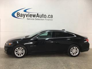 Used 2017 Chevrolet Malibu 1LT - ONSTAR! MYLINK! WIFI HOTSPOT! APPLE CARPLAY! ANDROID AUTO! REVERSE CAM! for sale in Belleville, ON