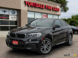 Used 2016 BMW X6 xDrive35i M Sport. Navi. 360 Cam. Black On Red for sale in Toronto, ON