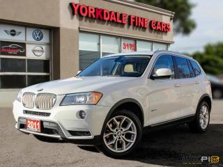 Used 2011 BMW X3 xDrive28i Sport Pkg. Panoramic. Navigation. 18 Inch Alloys for sale in Toronto, ON