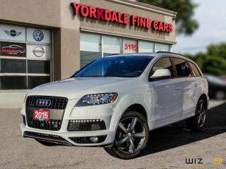 Used 2015 Audi Q7 3.0T Sport S Line. 7 Pass. Navi. Pano. Cam. Blind Spot Assist for sale in Toronto, ON