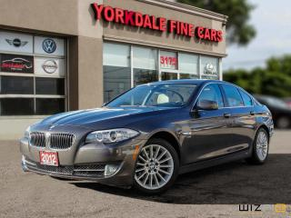Used 2012 BMW 535 I xDrive Sport Edition. Navigation. Camera. Very Clean for sale in Toronto, ON