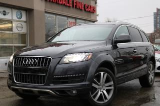 Used 2014 Audi Q7 TDI Technik S Line Pano. Navi. 360Cam. Blind Spot Assist for sale in Toronto, ON