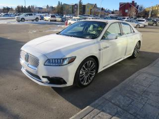 Used 2017 Lincoln Continental Reserve one previous owner, clean carfax report, no accidents, 3.0L GTDI V6 engine, climate pkg, tech pkg for sale in Okotoks, AB