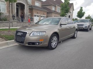 Used 2007 Audi A6 4dr Sdn 4.2L for sale in North York, ON