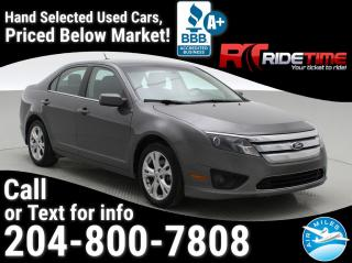 Used 2012 Ford Fusion SE for sale in Winnipeg, MB