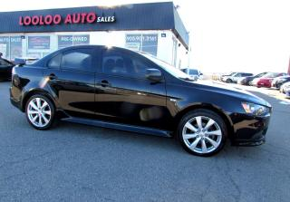 Used 2013 Mitsubishi Lancer Ralliart Automatic Navigation Bluetooth Certified 2YR Warranty for sale in Milton, ON