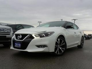 Used 2018 Nissan Maxima SL 3.5L LEATHER NAVIGATION for sale in Midland, ON