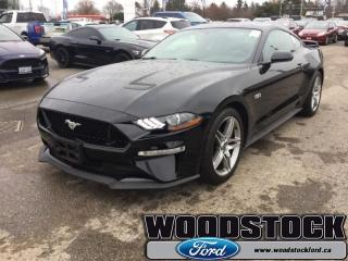 Used 2018 Ford Mustang GT Fastback  301A, GT, NAVIGATION for sale in Woodstock, ON