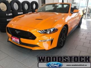 Used 2018 Ford Mustang GT Premium Convertible  401A, GT, NAVIGATION for sale in Woodstock, ON