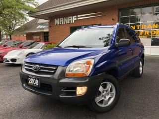 Used 2008 Kia Sportage LX-Luxury Pkg AWD Sunroof 4 New Winter Tiers Cert* for sale in Concord, ON