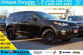 Used 2016 Land Rover Discovery Sport HSE LUXURY| BLACK DESIGN PACK| 5+2 SEATS for sale in Burlington, ON