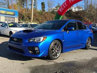 Used 2016 Subaru WRX STI w/Sport Pkg for sale in Coquitlam, BC