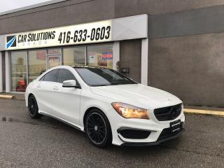 Used 2014 Mercedes-Benz CLA-Class CLA 250-NAVI-SUNROOF for sale in Toronto, ON