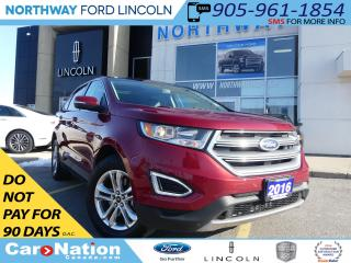 Used 2016 Ford Edge SEL | NAV | REAR CAM | PANO ROOF | LEATHER | for sale in Brantford, ON