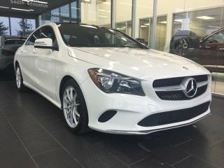 Used 2017 Mercedes-Benz CLA-Class 4MATIC, SUNROOF, REAR CAMERA, HEATED SEATS for sale in Edmonton, AB