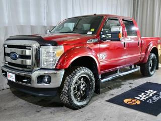 Used 2015 Ford F-350 Super Duty SRW LARIAT SD CREW CAB 156 WB for sale in Red Deer, AB