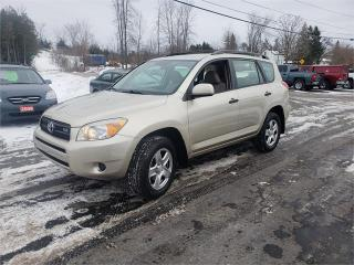Used 2008 Toyota RAV4 4x4 180k Safetied we finance for sale in Madoc, ON