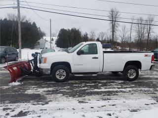 Used 2008 GMC Sierra 2500 HD 115k Plow Truck Reg Cab Long Box WT for sale in Madoc, ON