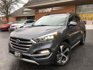 Used 2017 Hyundai Tucson AWD  1.6T Limited Panoramic S. Navi. R. Cam Certi* for sale in Concord, ON